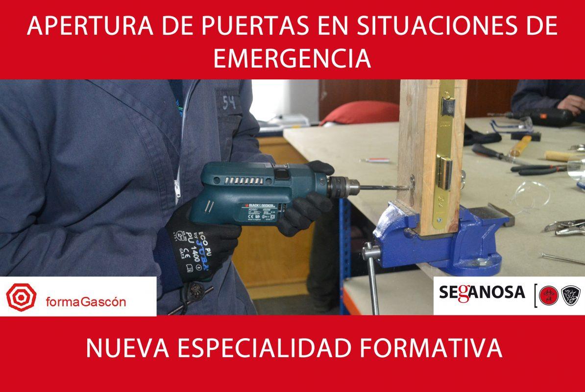 Apertura de puertas en situaciones de emergencia
